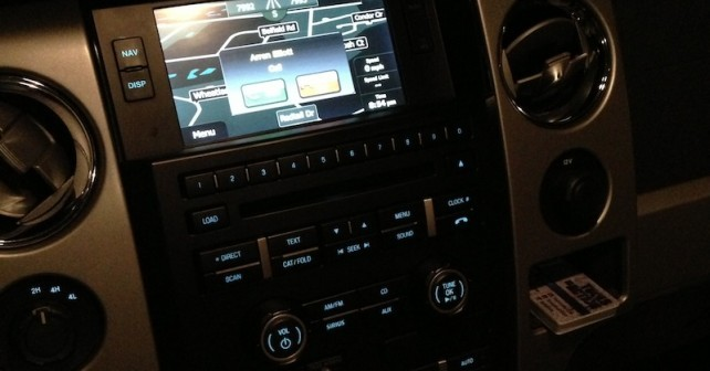 Systems 150 2013 F Dash Ford Navigation