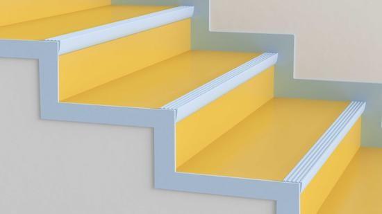 Stair Nosings – Flooring Accessories Tarkett | Carpet Stair No Slip Nosing | Stair Tread Nosing | Strips | Non Skid | Laminate Flooring | Gravel