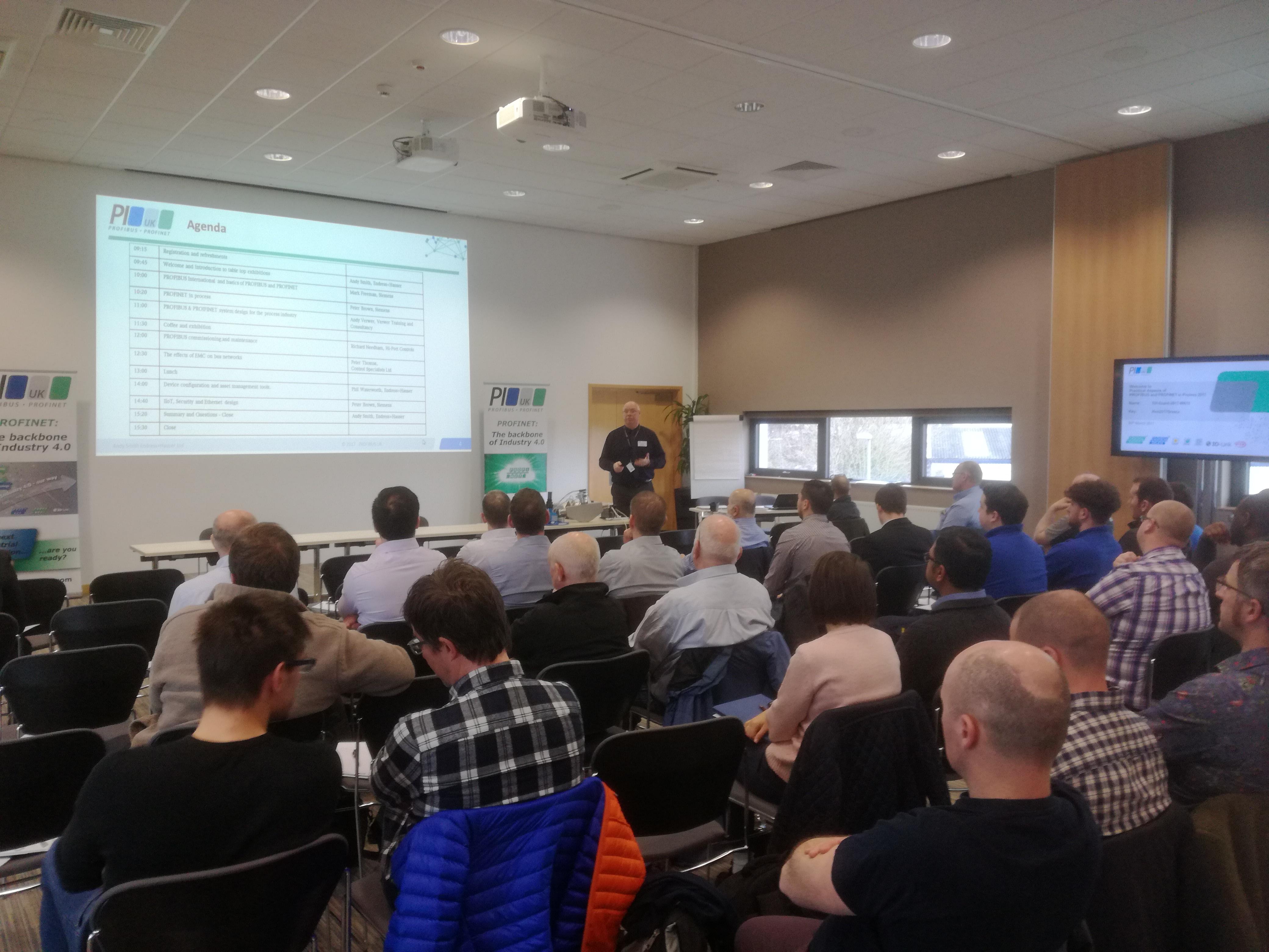 PROFIBUS, PROFINET and IO-Link Autumn Seminars | PI UK