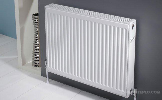 Panel radiator.