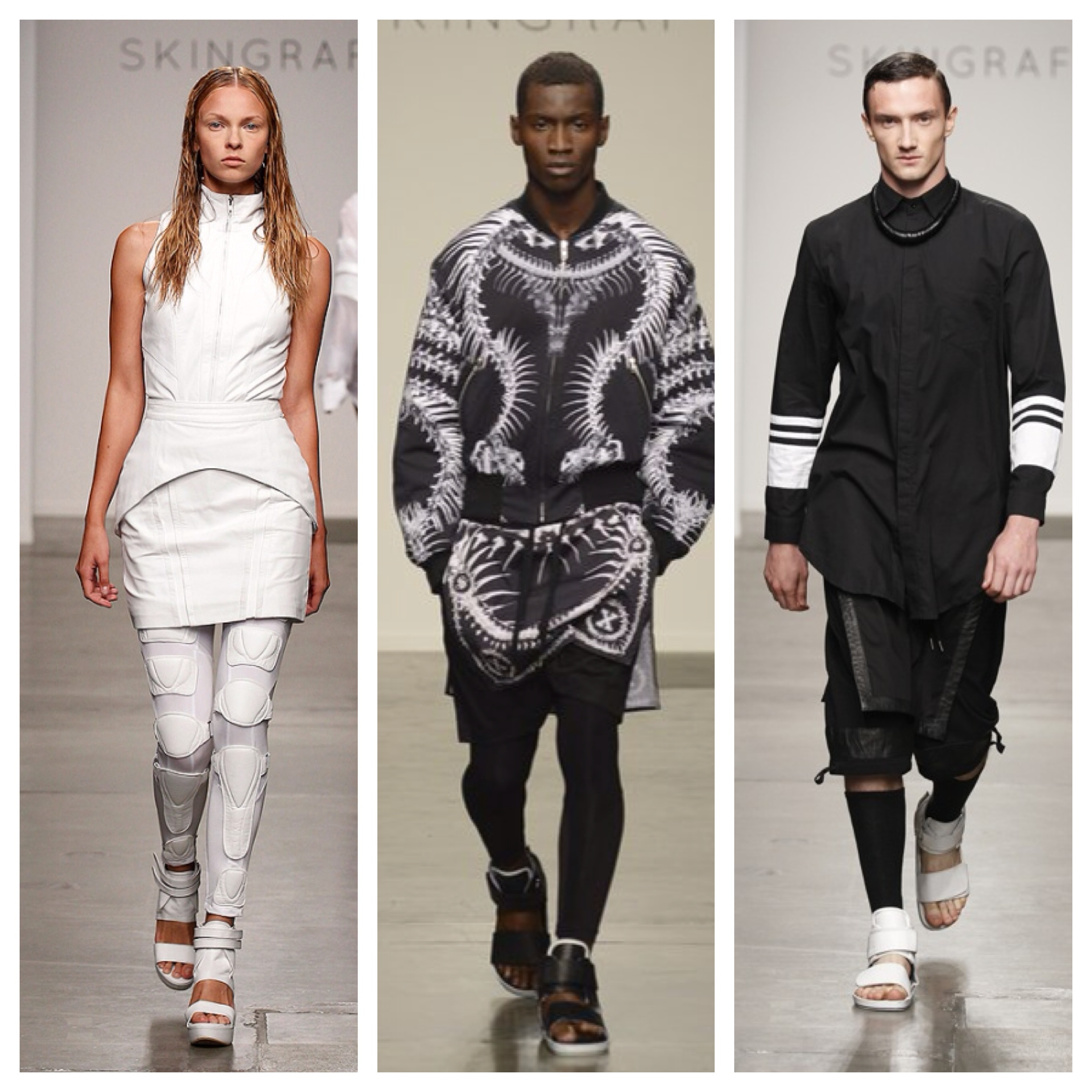 Spring 2014 Fashion Forward Looks from SKINGRAFT at Shop Untitled in     SKINGRAFT Spring 2014