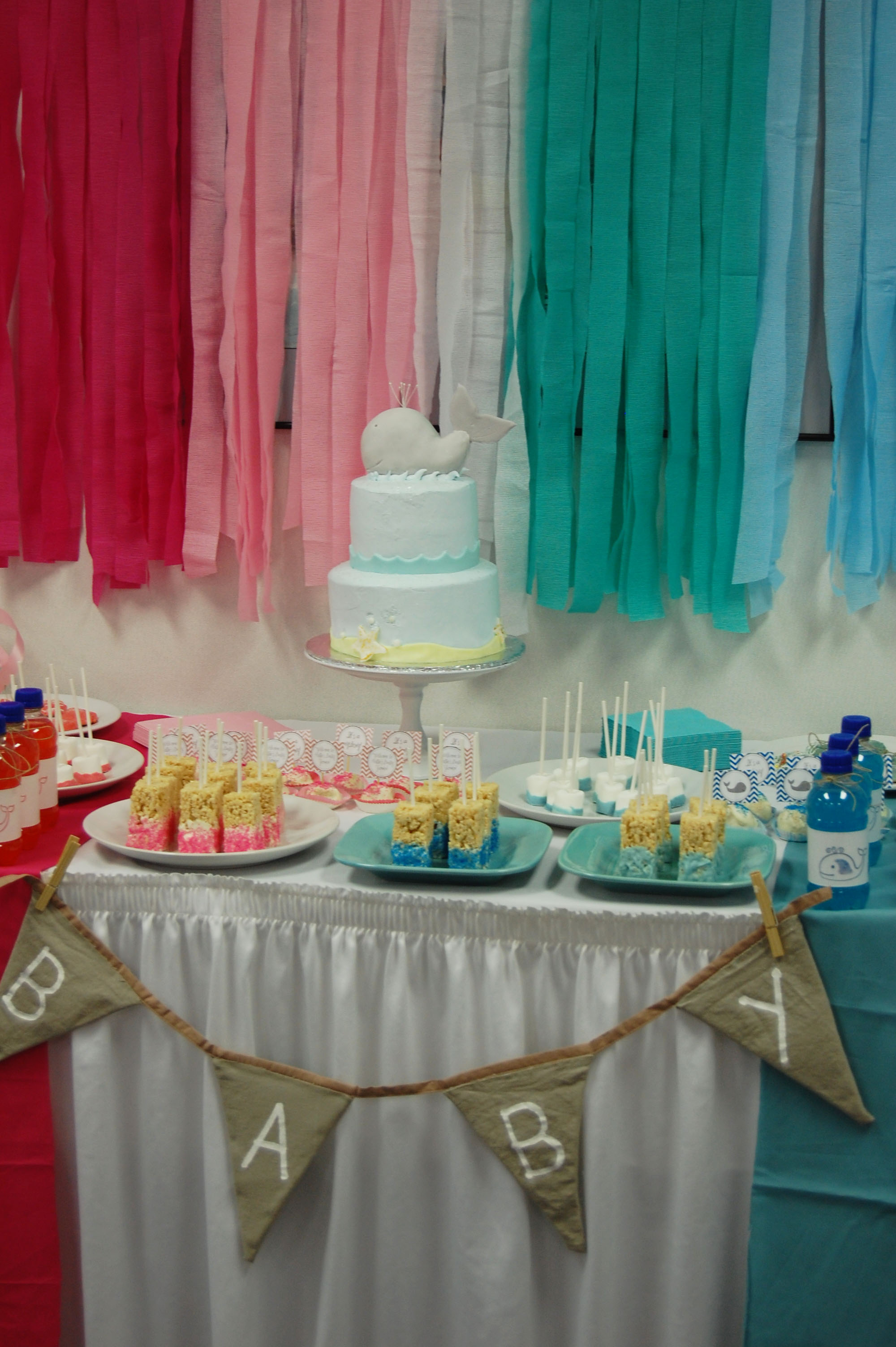 A Whale Y Cute Gender Neutral Baby Shower Project Nursery