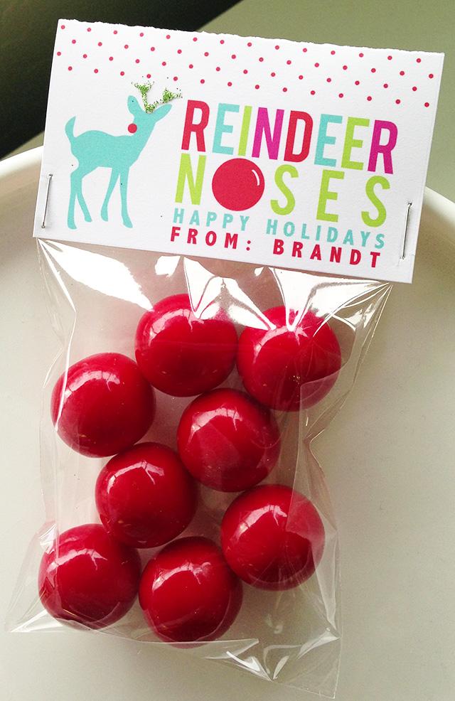 Printable Antlers Reindeer