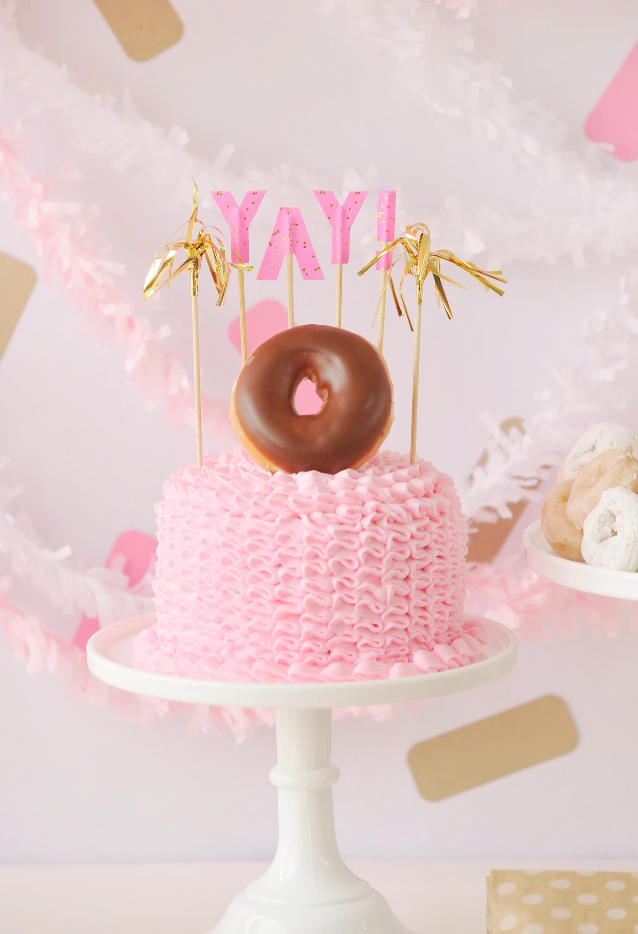 Giveaway Donut Themed Birthday Party In A Box Project