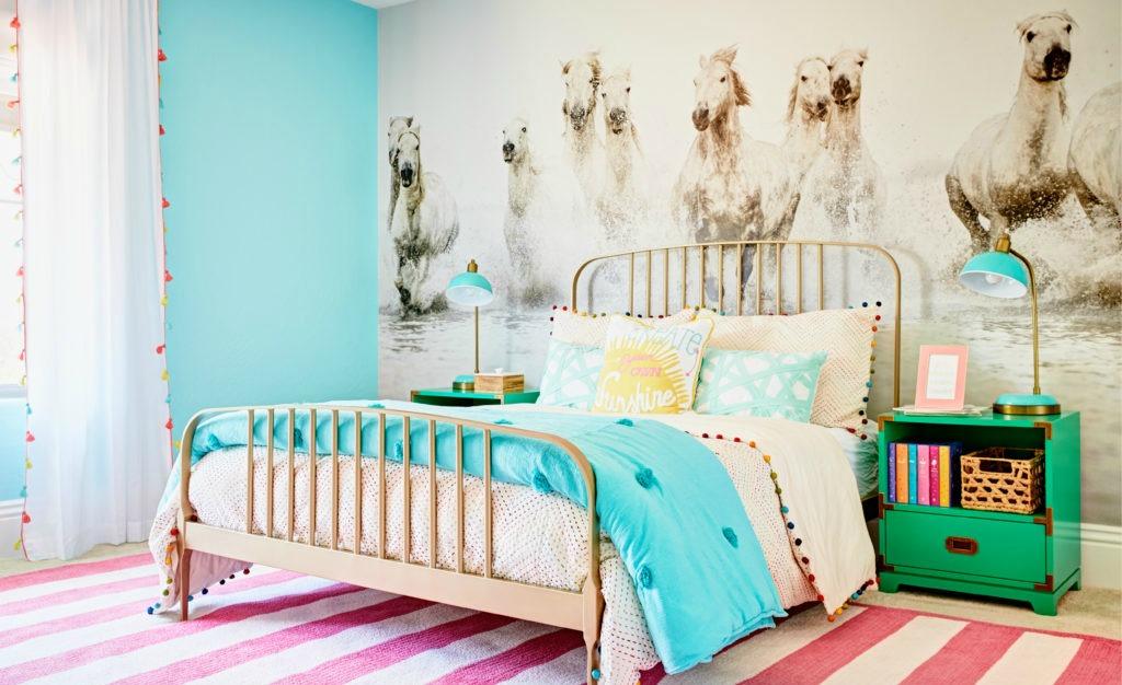 Design Reveal Equestrian Inspired Tween Room Project