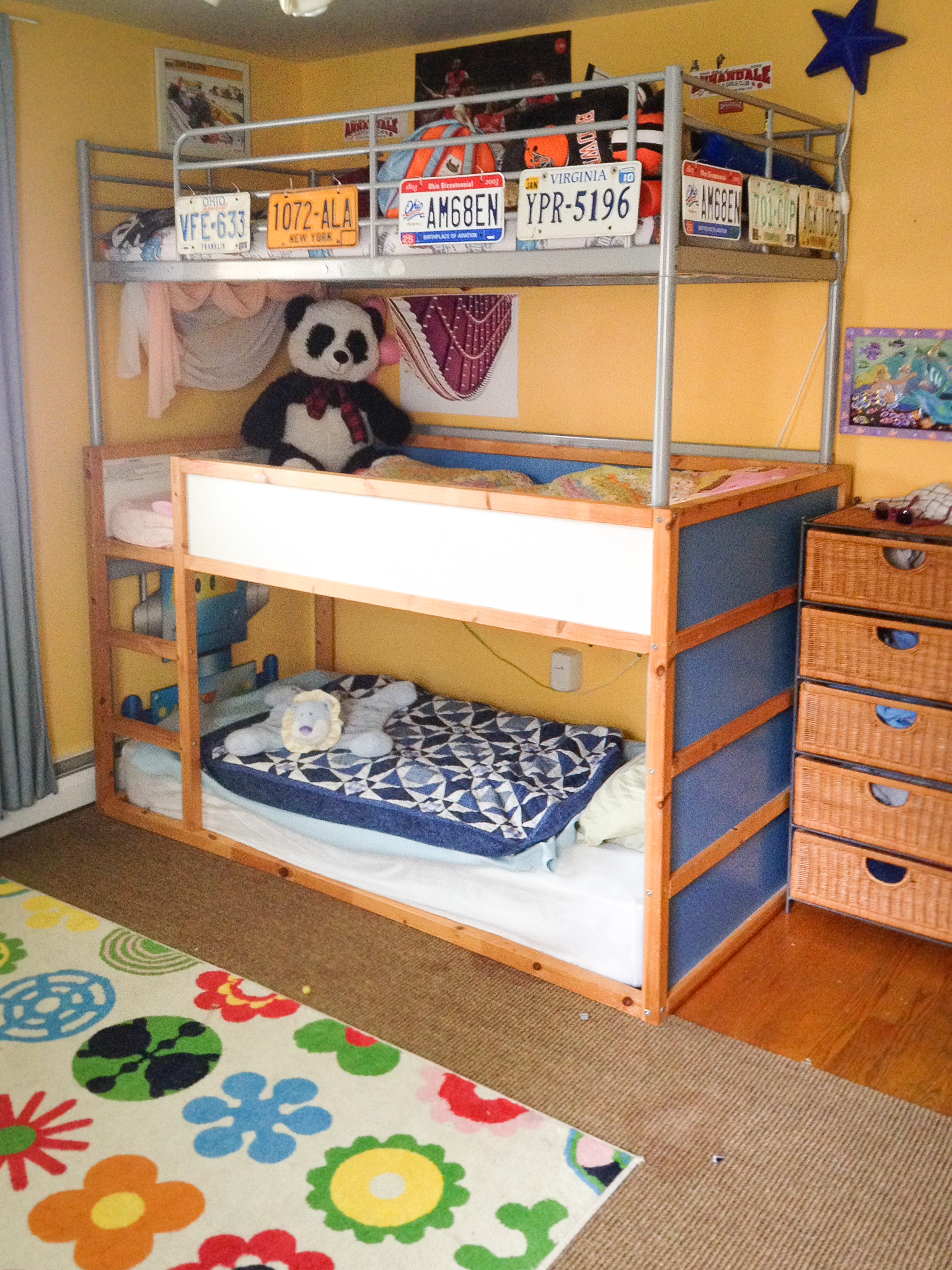 Triple Bunk Bed Ikea Sorta Hack Project Re Loved