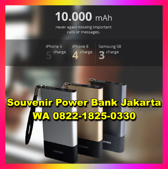 Powerbank Minimalis
