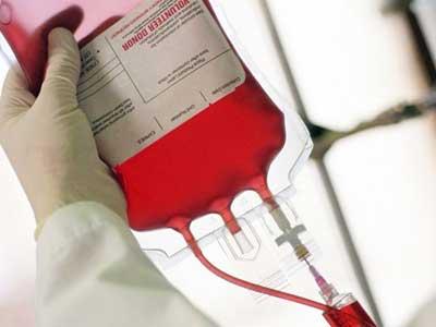 transfusão de sangue