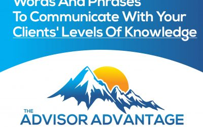 Words And Phrases To Communicate With Your Clients' Levels Of Knowledge – Episode 147