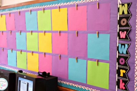 10 First Week of School Teacher Tips You Must Remember     Proud to be     work display bulletin board ready for the first week of school