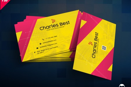 Creative Business Card Template PSD Free Download     PsdDaddy com business card design  business card design templates  business card  dimensions  business card holder