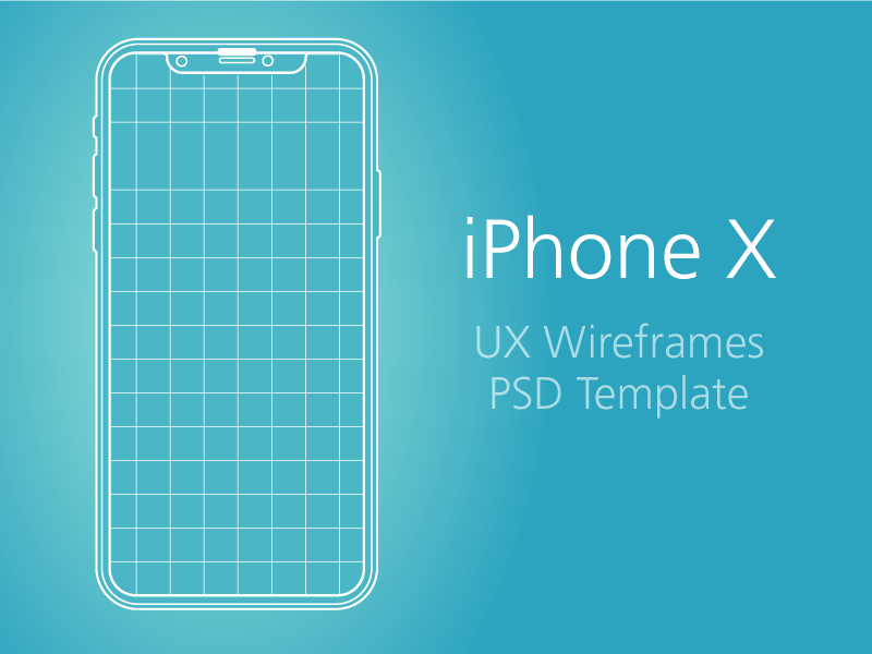 iPhone X Wireframe   Mockup Templates   PSDDD co iPhone X Wireframe   Mockup Templates