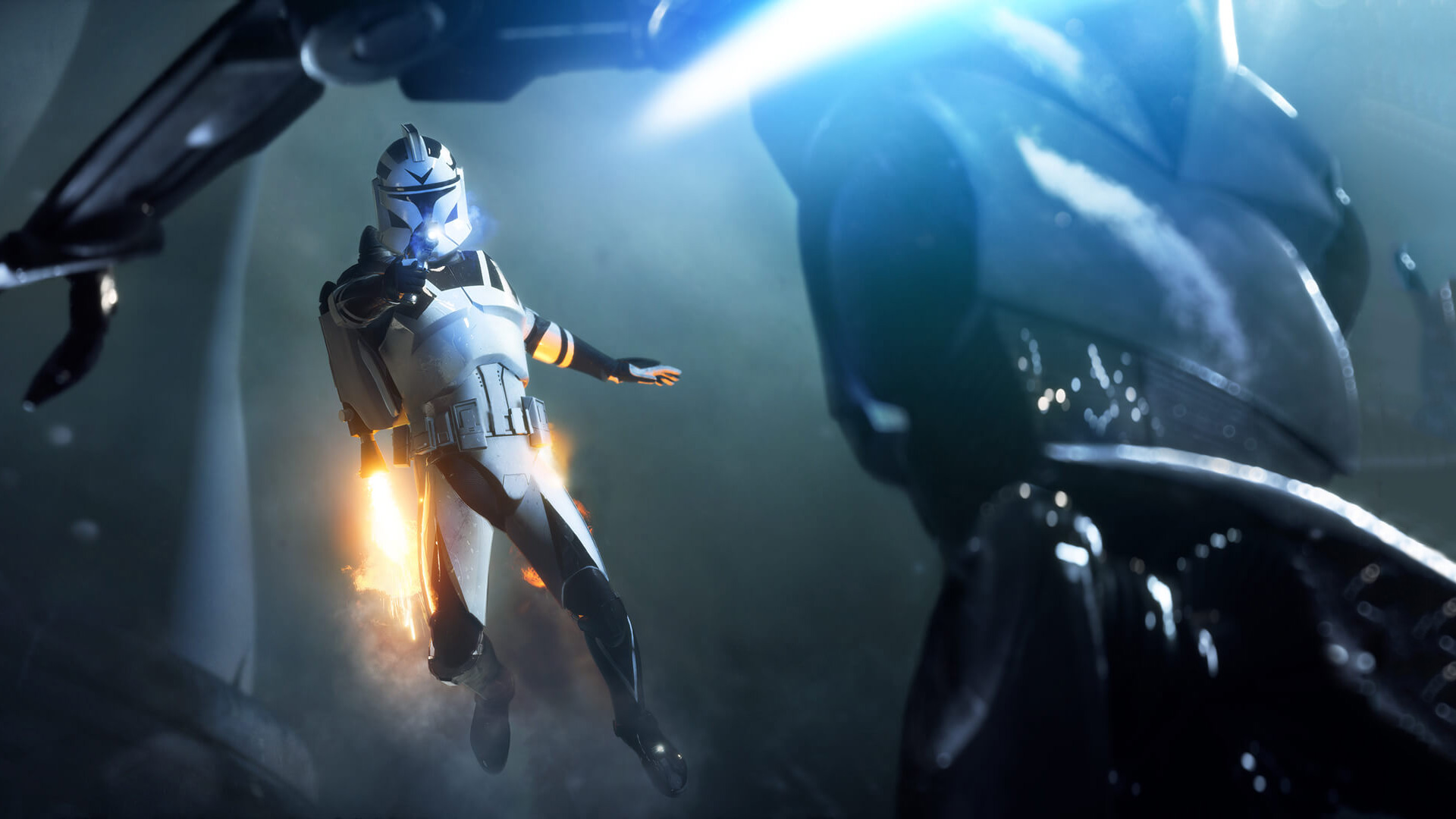 Star Wars Battlefront 2     PS Wallpapers Select the image above to view the wallpaper full screen  2  Press the  PlayStation 4 screen capture button on the controller  Star Wars  Battlefront 2