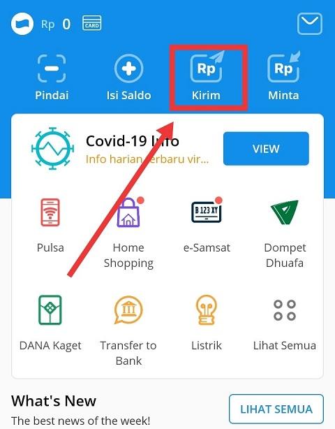 Cara Transfer Saldo Dana Ke Shopeepay Gratis Orang Kamar