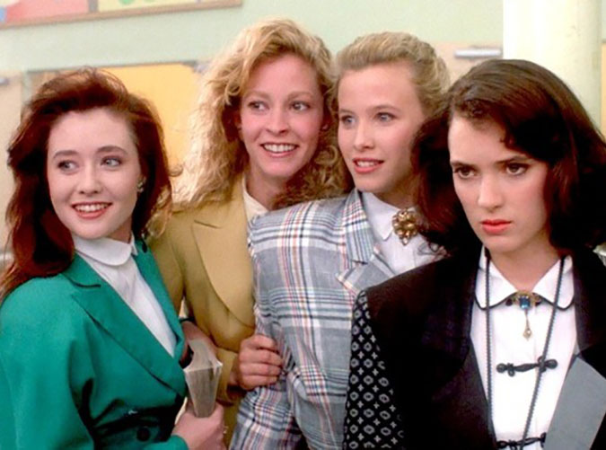 The Best and Worst of  80s Fashion   PureWow Heathers