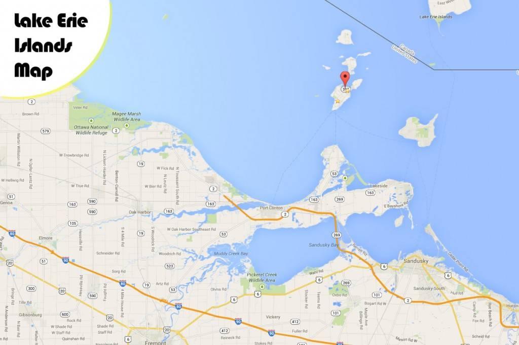 Map Sandusky And Put Bay