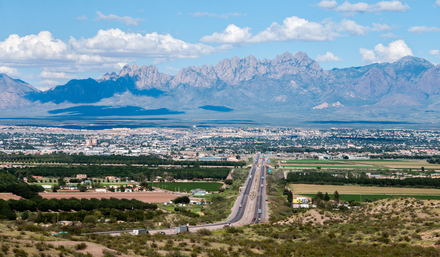 Las Cruces Mexico Border New And Mexico