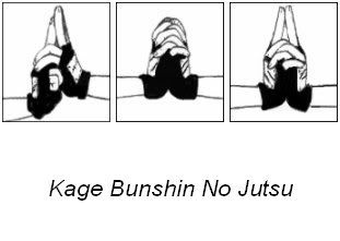How to do a shadow clone jutsu I mean what hand signs make ...