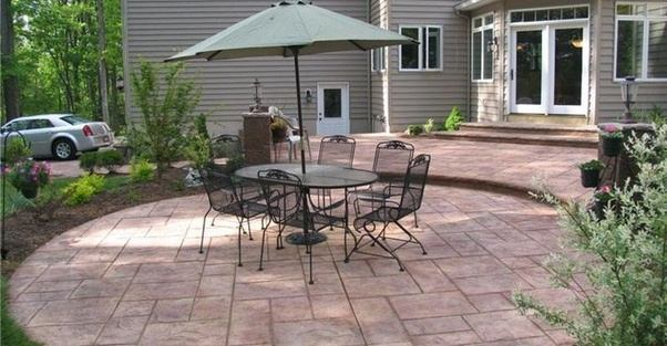 What s the difference between a lanai  a patio  a porch  and a     But the term patio usually refers to a lounging area at the rear of the  house  which may be fully covered  partially covered  or not covered at all