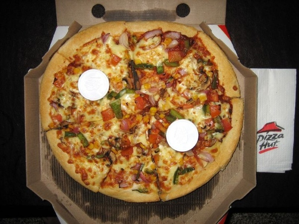 How Many Slices Of Pizza Are In A Pizza Hut Large Pizza