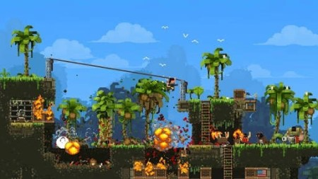 What are some of the most beautiful video games with pixel art    Quora Although it s a somewhat gory action game  I d like to include Broforce  here  The pixel art is awesome plus it s a very tongue in cheek kind of  approach to