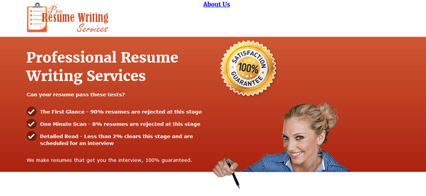 Are there any good resume writing services    Quora History of producing results