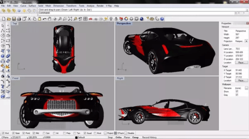 What is the best software for designing cars  and where can one find         3D printing and digital fabrication in case you need to create a  physical model of your design  You can also access its wide array of  tutorials online