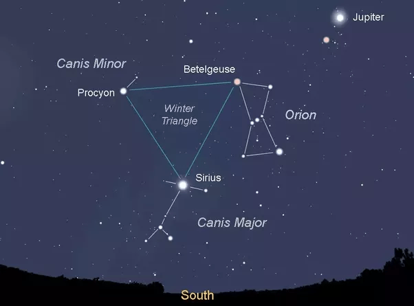 There's these three stars I see in the sky every night I ...