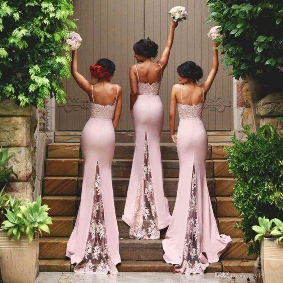 Where can I get configurable bridesmaid dresses    Quora and this Versa convertible long jersey bridesmaid dress they can try many  ways of wearing it with the same dress