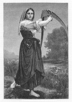 What Did French Peasant Women Wear In The 18th Century