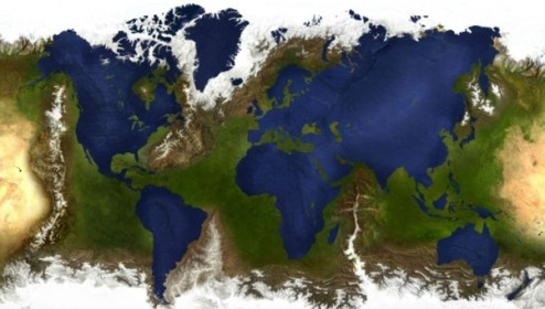 What would a reverse height map Earth be like    Quora