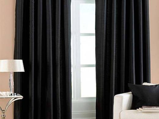 Interior Design  Do black eyelet curtains match with lime green     According to readyfit com au Shopfitter  black curtain is best matched with  peach or white colors  For your limegreen  you may use color curtains