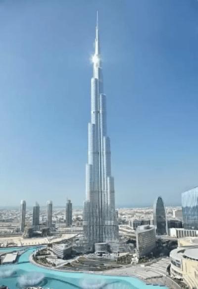 Was the world's tallest building, Burj Khalifa, built by ...