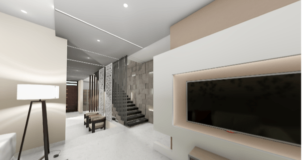 What Are Some Amazing Design Ideas For Your Small Living Room Quora   Mini Bar Under Stairs Design   Stairs Cupboard   Escaleras   Interior Design   Basement Stairs   Stair Storage