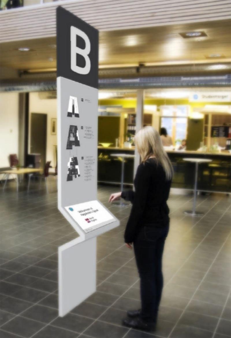 Museum Wayfinding Kiosk Qps Print