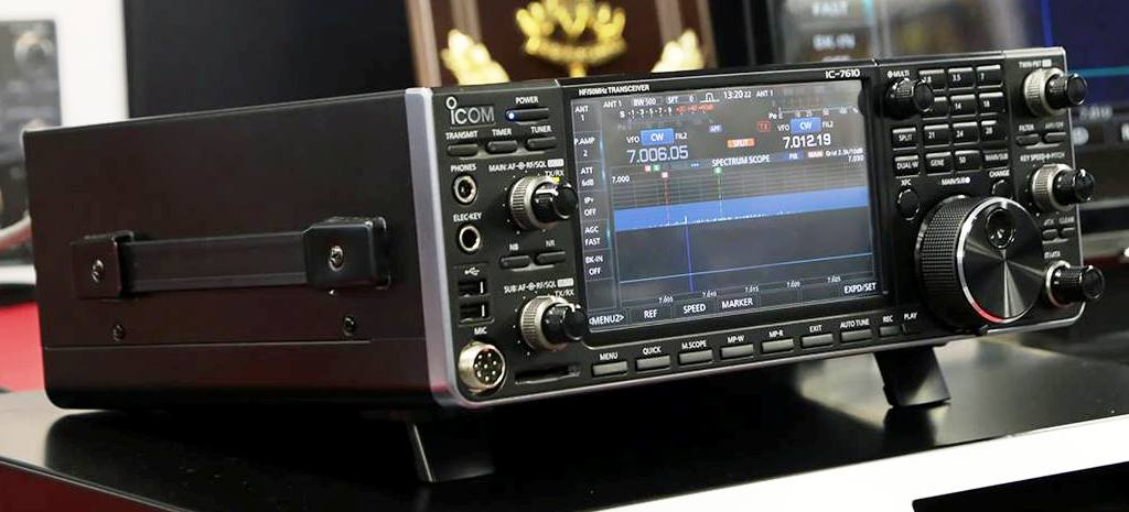 The New Icom Ic 7610 In Operation