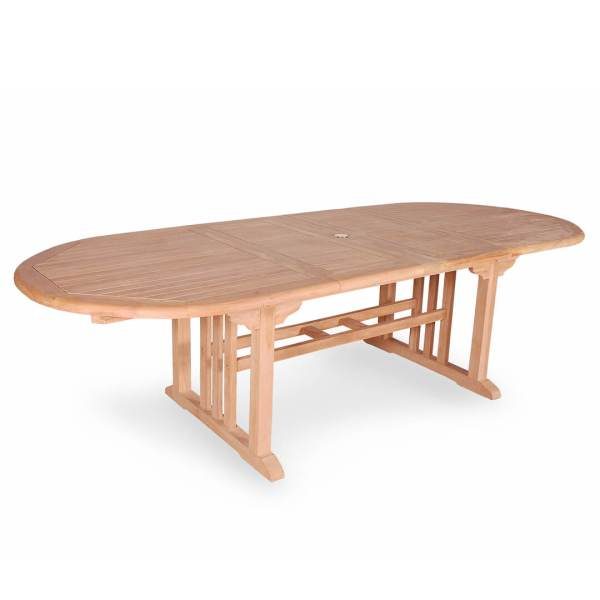 Buy Teak Oval Double Extension Table From Indonesia For Best Price    teak outdoor double extension oval dining table
