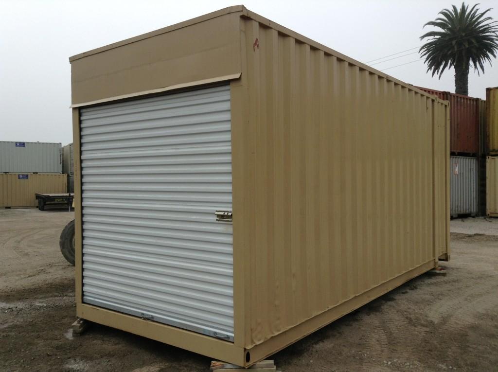 Container Shipping Door Garage