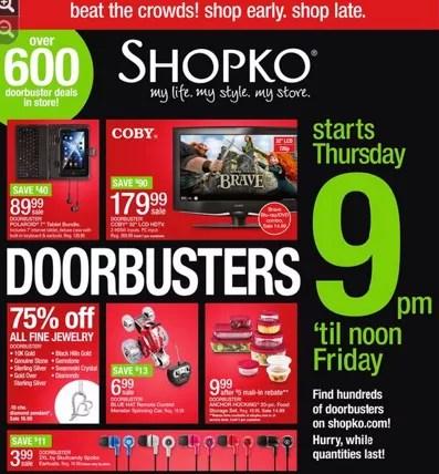 Shopko Black Friday deals (shop online, too!)