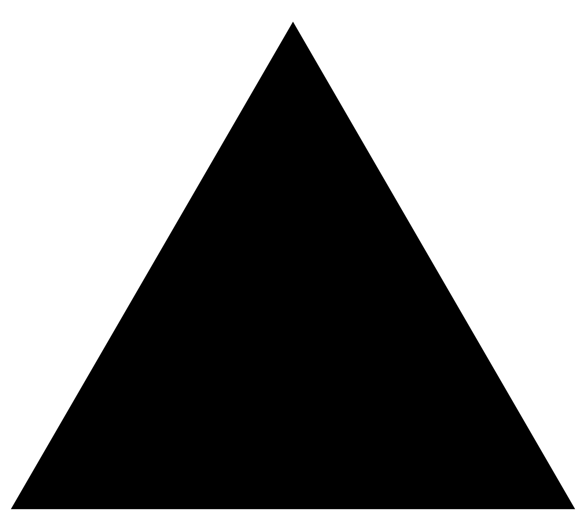 Inverted Triangle Symbol Meaning