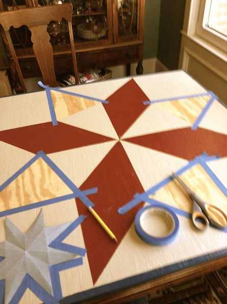 How To Create A Barn Quilt Quilting Digest