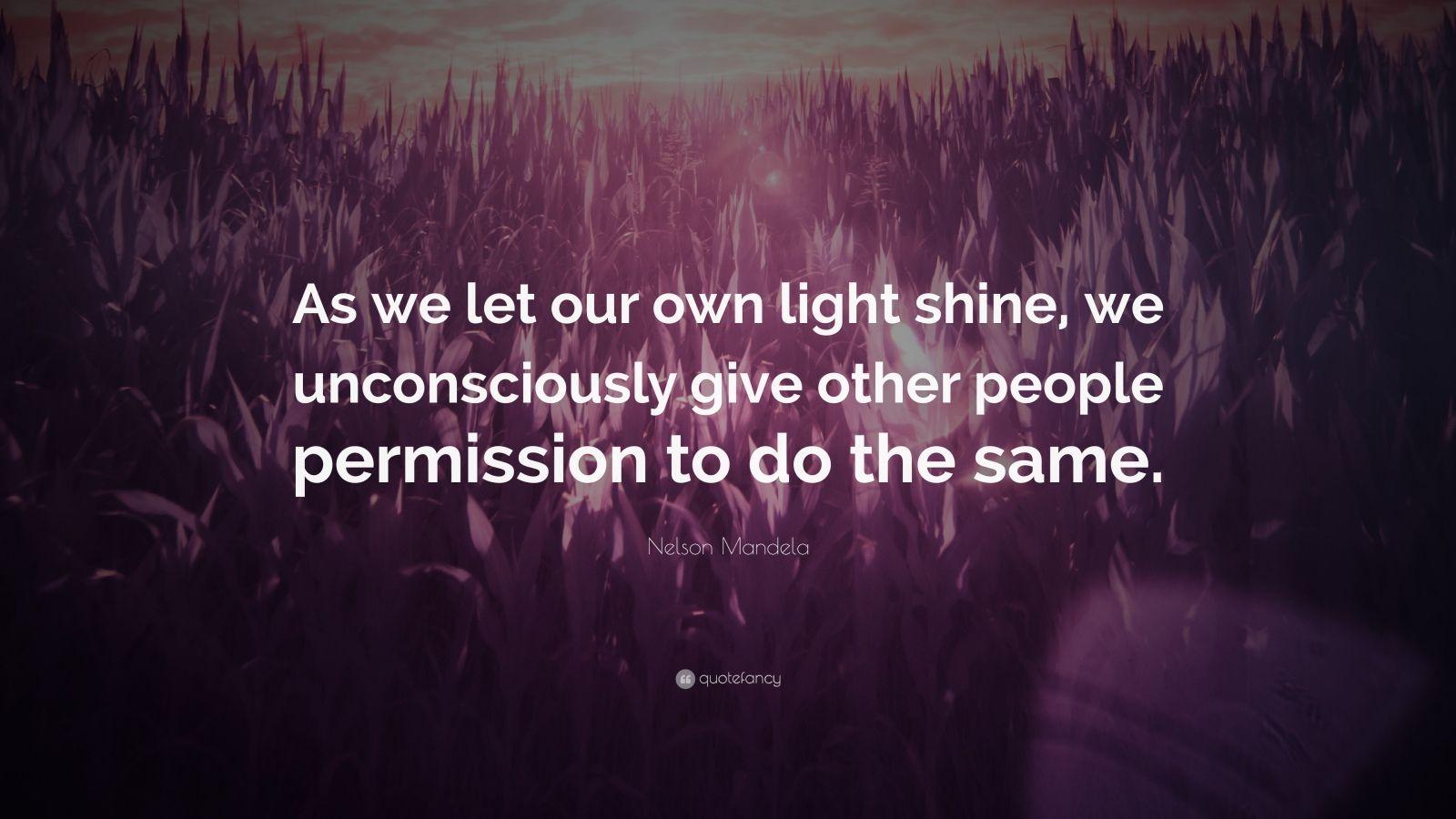 Let Your Light Shine Love