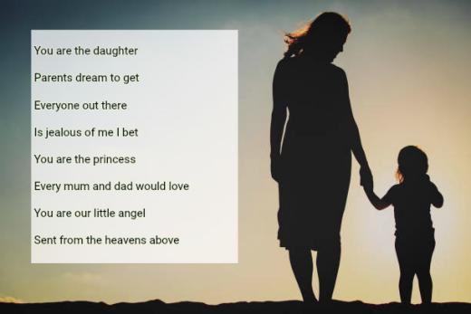 happy fathers day poems daughter