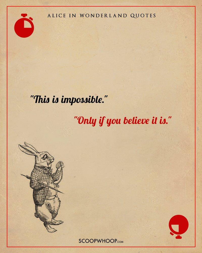 Crazy Alice Wonderland Quote