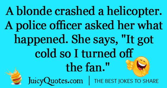 Funny Dumb Blonde Jokes
