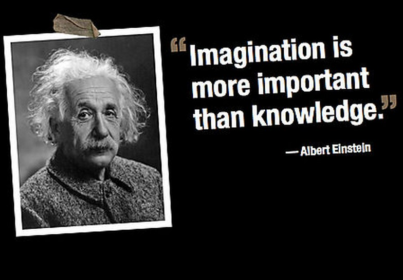 Albert Einstein Quote on Imagination   Quotes about Life   Quotes     Albert Einstein Quote on Imagination