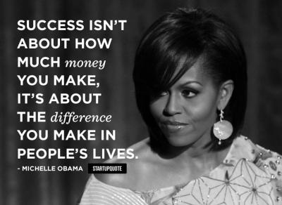 Success Isn't About How Much Money You Make, It's About ...