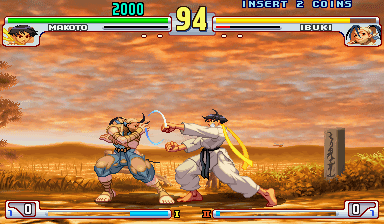 Street Fighter III 3rd Strike: Fight for the Future (Euro ...