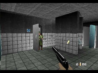 007   GoldenEye  USA  ROM   N64 ROMs   Emuparadise 007   GoldenEye  USA  In game screenshot