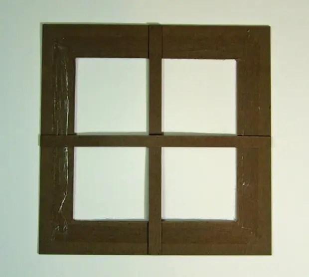 Cửa sổ khung.